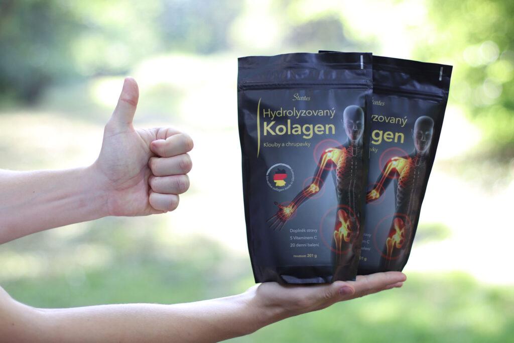 Startes® Hydrolyzovaný Kolagen FORTIGEL® Klouby a chrupavky 201G - na 20 - 40 dní